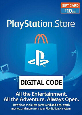 10$ PlayStation Network Gift Card 10 USD PSN UNITED STATES✅ FAST DELIVERY ✅