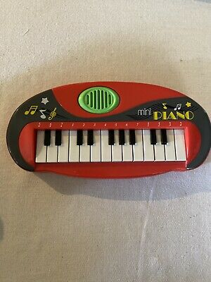Electronic Mini Piano Toy, Works