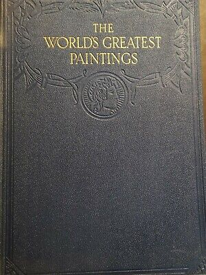 THE WORLDS GREATEST PAINTINGS   VOL ONE - Vintage Art Book
