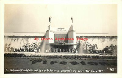 California Pacific International Exposition, RPPC, Palace of Electricity