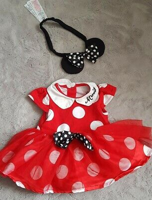 Baby Girl 0-3months Minnie Mouse Outfit (Disney Store)