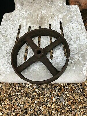 "9"" Diameter Antique Wheel"