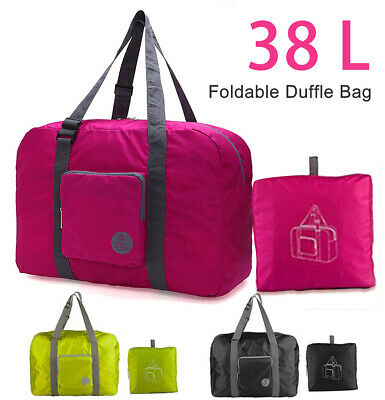 Duffle Bag Travel Luggage Baggage Storage Sports Gym Waterproof Foldable 38L -)