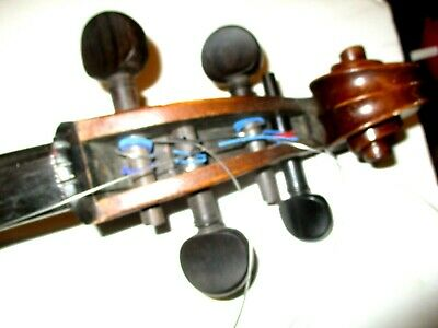 Vintage Cello Neck with Strings and Parts for a Vintage Cello As shown
