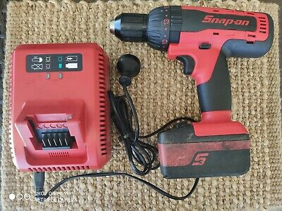 Snap-On Tools  CDR7850 1/2″ 18V Lithium Cordless Hammer Drill  + 3.0Ah Battery