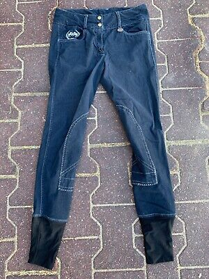 Equine couture navy breeches size 26
