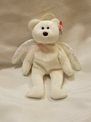 Beanie Baby Original HALO-Multiple Errors-Highly Valued by Today's Collectors