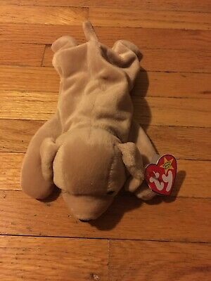 Ty Beanie Baby Fetch Dog With Errors