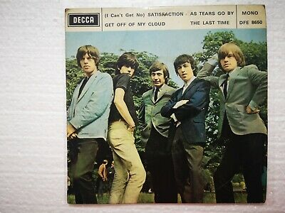 """The Rolling Stones  """"As Tears Go By """" Hong Kong 1960's Decca Mono DFE 8650 EP"""
