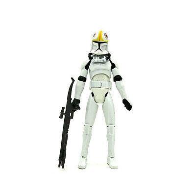 "3.75/"" Star Wars 2005 Clone Pilot Trooper Revenge of the Sith Figure #001"