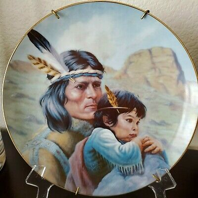 The Kiowa Nation by Perillo American Indian Heritage Plate Collection Numbered