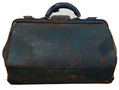 Antique Leather Doctors Bag