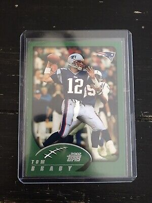 TOM BRADY - 2002 Topps #248 - 1st Topps Card - New England Patriots Rookie RC