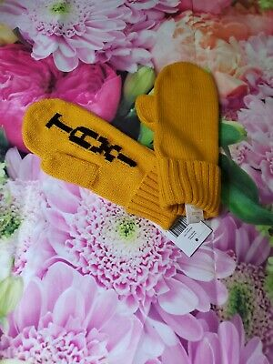 Nwt kate spade womens mittens gloves taxi New