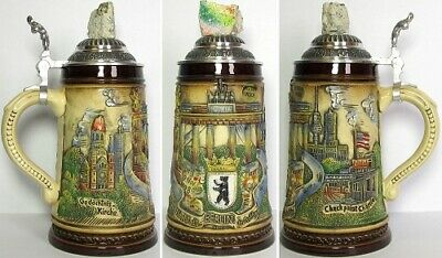 Limited Edition Berlin Wall Germany Beer Stein .5L Made in Germany One New Mug