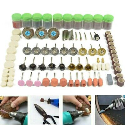 Rotary Accessories Polishing Grinding Kit Set Cutting Drill for Dremel Tools DIY