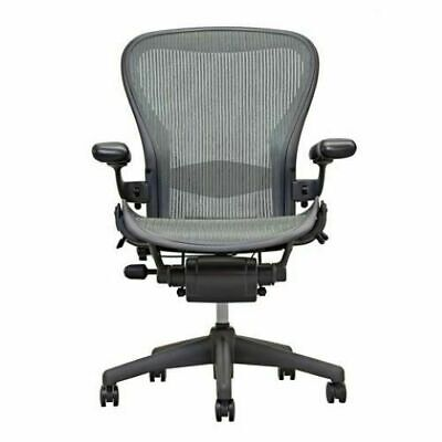 Herman Miller Aeron Chair Grey (Lead) Posture Fit Open Box Size B FREE Shipping!