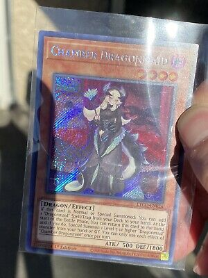 Chamber Dragonmaid Common Yugioh Card Proxy Fake *For Fun Use Only