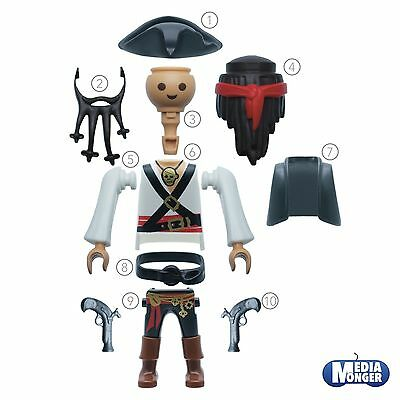 Playmobil Figurine Sultanswache African Native 4595 Spare Part