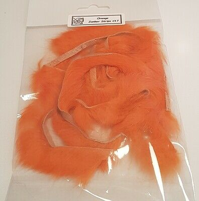Fly Tying Materials C05 Red Rabbit Zonker Strips