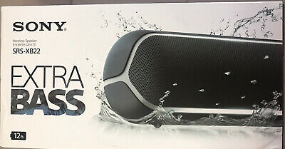 SONY Extra Bass SRS-XB22/B Sound Portable iphone/ipod Bluetooth Speaker Lo#EB99
