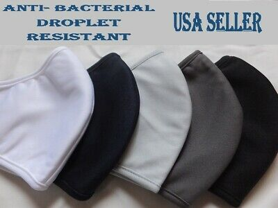 Reusable Face Masks, 2, 3 layers, Navy, White, Black, Gray, 3,4,5,6,8,10 pack