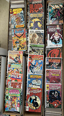 Comic Grab Bag Buy4 Get One Free Dc Marvel And Independent Rare Variant Covers!