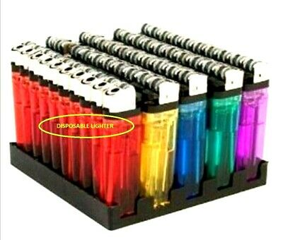 Disposable Lighters Adjustable Flame Child Safety New Choose Qty