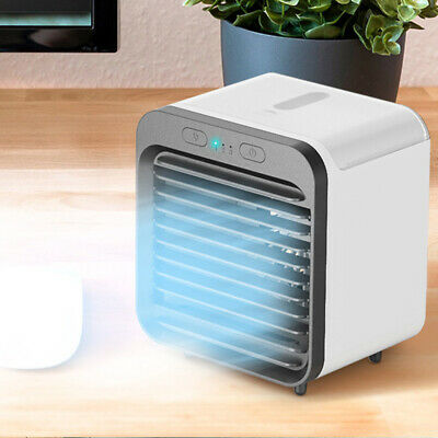 Rechargeable Portable Mini Air Conditioner Ac Cooler USB Fan Air Cooling Fan NEW