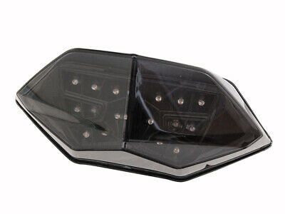 Shadow Diffuser//Clear Lens Competition Werkes MotoMPH Integrated Taillight for 13-14 Kawasaki ZX636