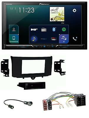 Pioneer Bluetooth aux mp3 USB autoradio para Smart Forfour 454 fortwo 451 ISO