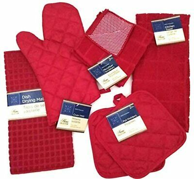"15/""x 20/"" RED /& WHITE DESIGN red by AsM Kitchen Microfiber Quick Drying Mat"
