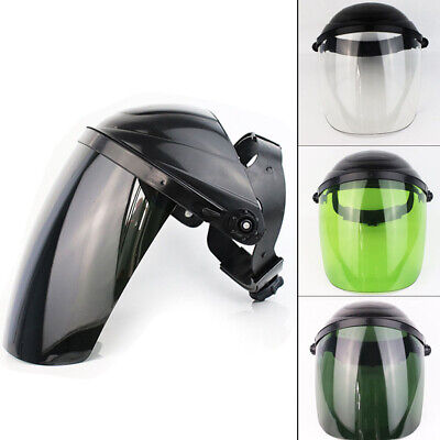 Safety Full Face Shield Clear Visor Eye Protection Grinding Welding Mask