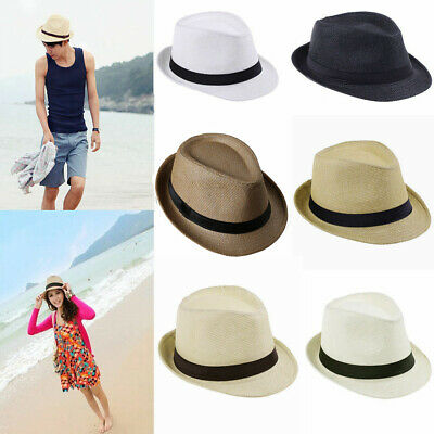 MISSMARCH Fashion Women Men Western Cowboy Hat Witht Assel Ribbon Straw Lady Dad Beach Sun Sombrero Cap Mesh Cowgirl Jazz Hat Fishing Bike Holiday Beach Big hat Sun Sun Shade s