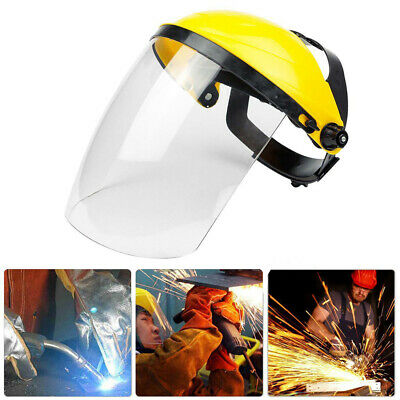 Clear Head-mounted Protective Safety Full Face Eye Shield Screen Grinding Lot
