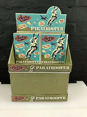 "Schylling PARATROOPER 17/"" Tangle Free Parachute Retro Army men Military Toy NEW"