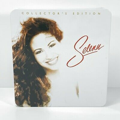 Forever Selena Collector's Edition 3 CDs Tin Box Dreaming of You Quintanilla