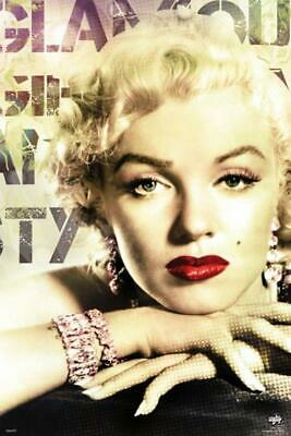 Maxi Poster PP31798  size 91.5 x 61cm Marilyn Monroe Glamour