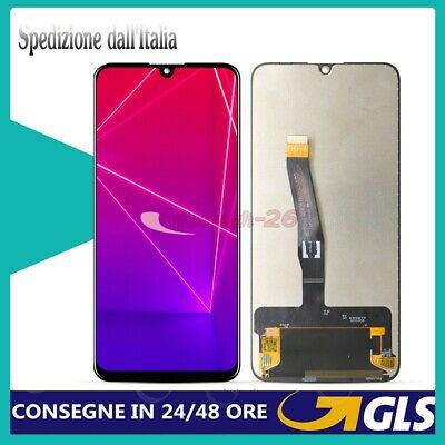 Lcd Display Huawei P Smart 2019 Pot-Lx1 Pot-Lx2 Screen Touch Vetro Schermo Nero