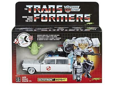 Hot Transformers Ghostbusters Ectotron Ecto-1 in stock MISB