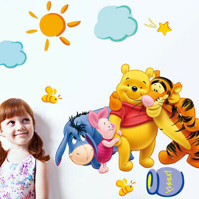Sometimes The Smallest Things Winnie The Pooh Quote Wall Sticker Removable 12 54 Picclick Uk