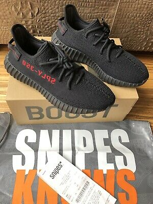 ADIDAS YEEZY BOOST 350 Bred Infant Baby Sz 8K Taille 25 Ds