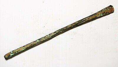 ZURQIEH -as18131- ANCIENT HOLY LAND. BRONZE AGE. 2900 B.C BRONZE CHISEL