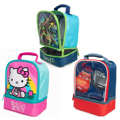 Kids Lunch Bag Firetruck Soft Boy Toddler School Thermos Travel Camp Hiking New