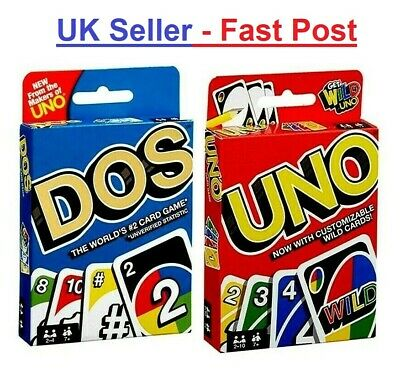 108 Playing Cards UK SELLER UNO Indoor Family Party Playing Card
