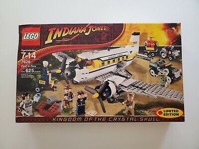 7628 Lego Indiana Jones Peril In Peru Sticker // Aufkleber *New*