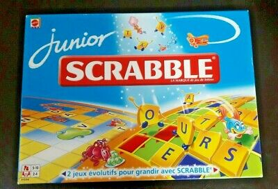 Jeux Societe Educatif Scrabble Junior Mots Traditionnel Réflexion 4-5 Ans