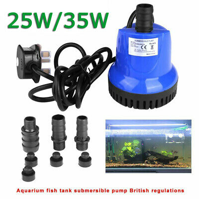 Submersible Water Pump 2500L//H Electric Fountain for Swimming Pool Garden Pond