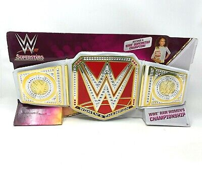 WWE SUPERSTARS WOMEN'S Championship Belt Raw Red, Smackdown