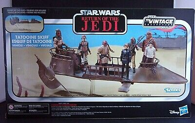 Star Wars The Vintage Collection Jabba's Tatooine Skiff Collectible Vehicle NEW